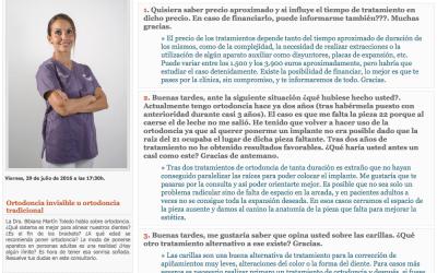Ortodoncia invisible u ortodoncia tradicional, La Provincia