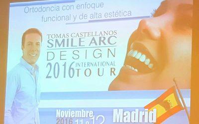 """""""Ortodoncia con enfoque funcional y de alta estética"""" (Dr. Tomas Castellanos)"""