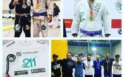 Dario Ojeda, campeón de jiujitsu en el National Pro en Barcelona