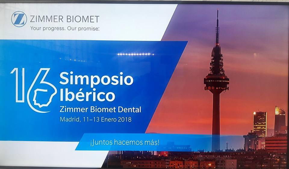 Simposio Ibérico del fabricante de implantes dentales Zimmer Biomet